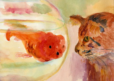 Fish and the Cat