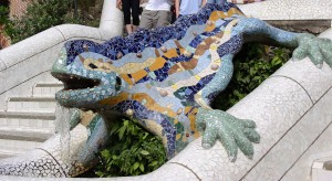 Reptil Parc Guell, Barcelona