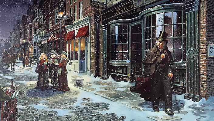 It's Time For Some Scrooge by Gail Ingis