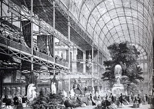 Crystal Palace Lithograph