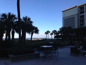 gardens in the rear of Ritz Carlton, Amelia Island
