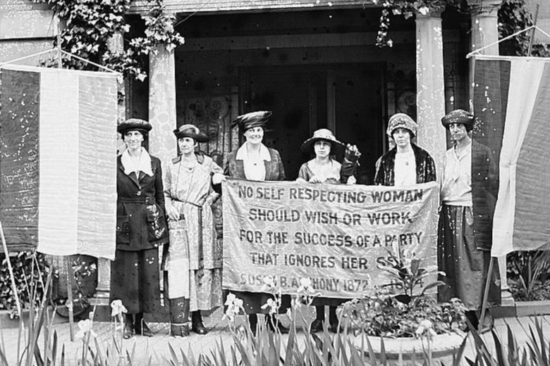 In the 19th Century… Women's Suffrage