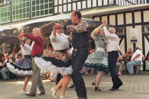 Square dance group