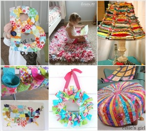 Ideas for left over fabric