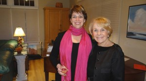Kristan Higgins, author and me