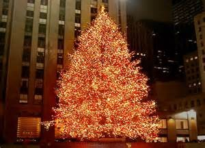 The famous tree at Rockefeller Plaza