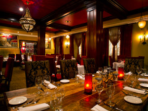 Ambience of the dining areas