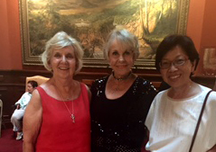 Judy, Gail & Marjorie, all of us artists